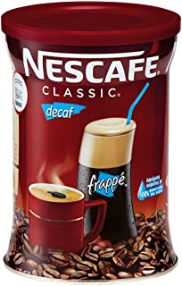 Nescafe Classic Instant Greek Coffee Decaf, 7-Ounce Cans (Pack of 2)