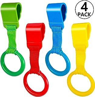 Mejora Motricidad 1 Cadena Chupetes Lola Kids 4 Colores Ayuda a Bebe a Ponerse de Pie Facilmente Agarraderas Para Parques Bebes 3 Versiones O/³ Anillas Para Cunas Y Parques 4 Unidades
