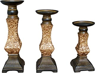 5 candle holders