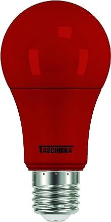 Taschibra 11080392, Lâmpada LED TKL Colors, 5 W, Vermelho