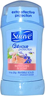 Suave Antiperspirant Deodorant, Sweet Pea and Violet 1.4 Ounce (Pack of 1)