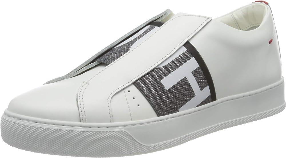 Hugo boss, futurism el.sneakers, scarpe da ginnastica uomo,in pelle 50441809