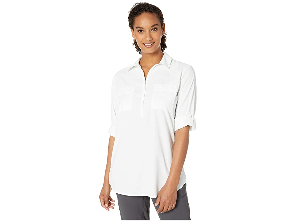 Royal Robbins Bug Barriertm Expedition Long Sleeve Tunic (White) Women