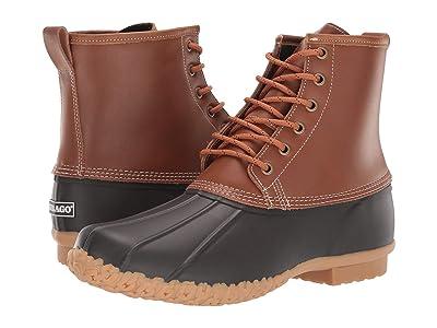 Sebago Duck Boot (Lemon Tea/Dark Brown) Men