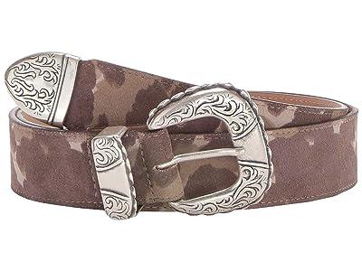 Leatherock Meredith Belt (Camo Taupe) Women