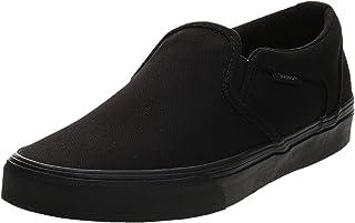 VANS Asher, Men's Athletic & Outdoor Shoes, Canvas Black, 40 EU