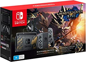 Nintendo Switch Console - Monster Hunter Rise Edition