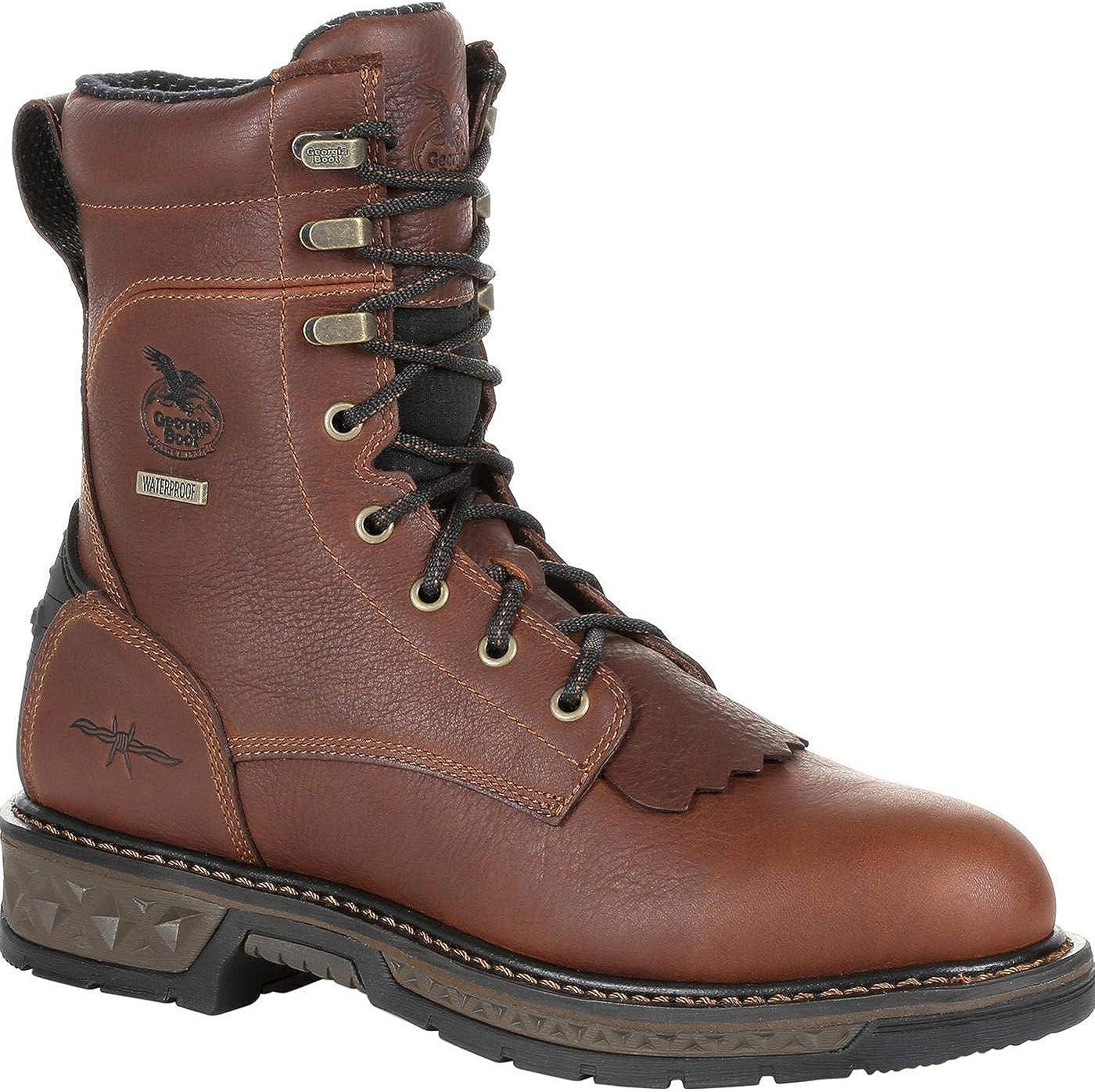 Georgia Special sale item Men's Boot Carbo-Tec Lt Waterproof Today's only Toe Brown Steel Work