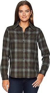 Womens Lodge Wool Plaid Shirt