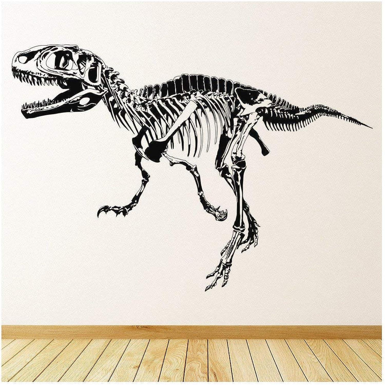 Azutura T-Rex Skelett Wandtattoo Jura-Dinosaurier Wand Wand Wand Sticker Kinder Schlafzimmer Haus Dekor verfügbar in 5 Größen und 25 Farben Groß Schwarz B00CP45M0M bdefb9