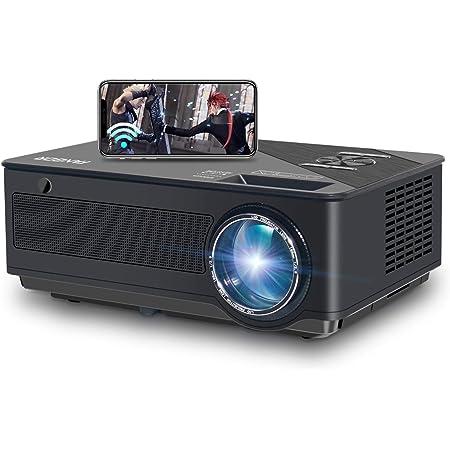 FANGOR プロジェクター ネイティブフ1080P 9500ルーメン Wi-Fi接続 4K対応 BLUETOOTH 解像度1920×1080 大画面300インチ ビジネス用 TV Stick/パソコン/スマホ/ゲーム機/DVDプレーヤー/タブレットに接続可 メーカー3年保証