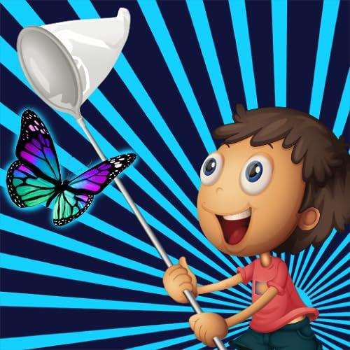 Schmetterlingskinderfänger: die große Garten-Abenteuer - Gratis-Edition