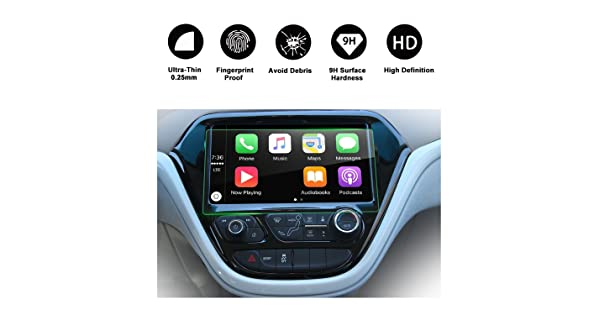 RUIYA Tempered Glass protector Compatible for 2017 Bolt EV 10.2-Inch Car Navigation Protective Film,HD Clear and Protect your Eyes 2017 Chevrolet Bolt EV