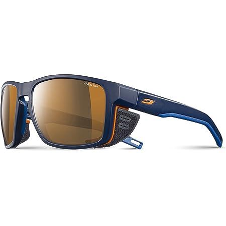 Julbo Shield Sonnenbrille Unisex Erwachsene One Size Blau Blau Orange Bekleidung