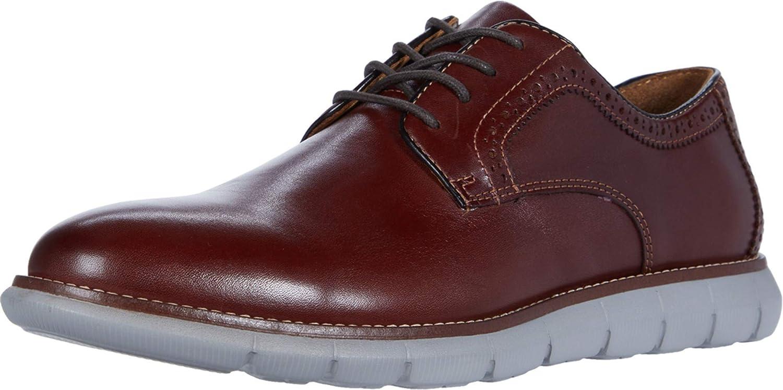 Johnston & Murphy Men's Holden Plain Toe Classic Dress Shoe   Genuine Leather   Lightweight Athletic Construction