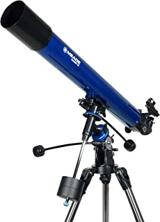 Meade Instruments 216002 Polaris 80 EQ Refractor Telescope (Blue)