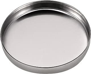 JUNKE 24 Pro DIY Round Iron Metal Empty Eyeshadow Pans Blush Lipstick Palettes Organizers Cosmetics Beauty Accessories, 26.5mm/1