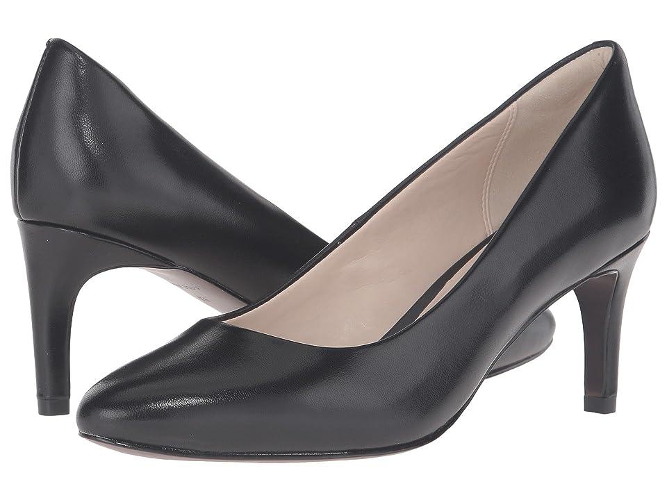 Cole Haan Clara Grand Pump 65mm (Black Leather) Women