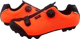 LUCK icaro Zapatillas de Ciclismo MTB, Adultos Unisex, Rojo