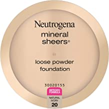 Neutrogena Mineral Sheers Lightweight Loose Powder Makeup Foundation with Vitamins A, C,..