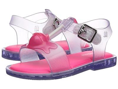Mini Melissa Mini Mar Sandal II (Toddler/Little Kid) (Clear) Girls Shoes