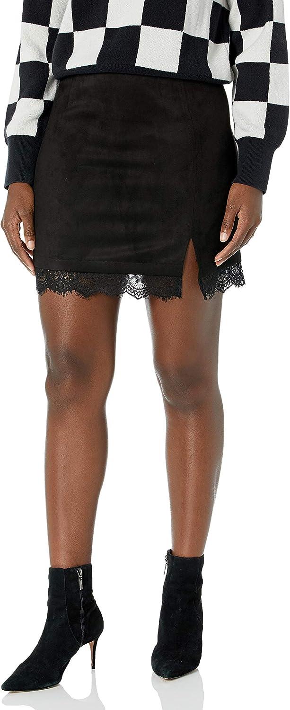 BB Dakota by Steve Madden Women's Melrose Lace Skirt
