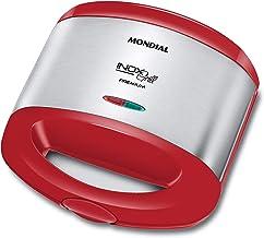 Sanduicheira Mondial, Inox Red Premium, 220V, 800W - S-19