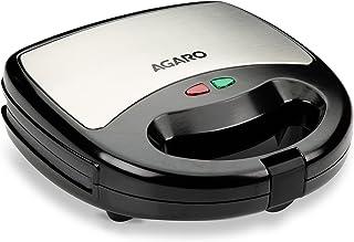 AGARO ELITE 750 watt Sandwich/Panini Maker with Non-Stick Grill Plates