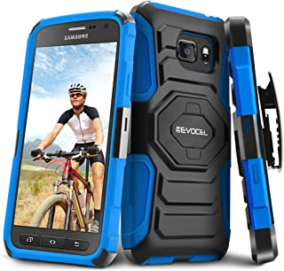 Galaxy S7 Active Case, Evocel [New Generation] Dual Layer Rugged Holster Case with Kickstand & Belt Clip for Samsung Galaxy S7 Active SM-G891 (Does NOT fit Regular S7 - S7 Active only), Blue
