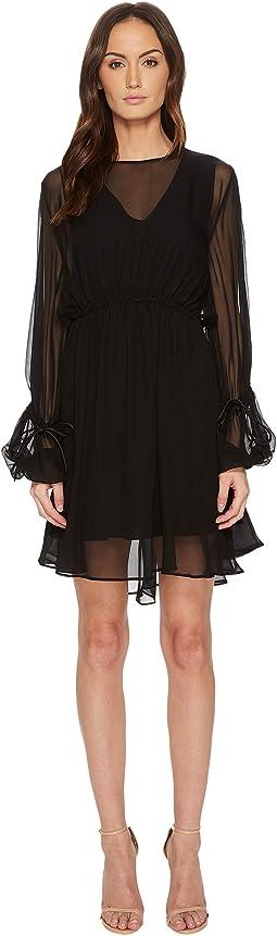 Sportmax - Amelia Jersey 3/4 Sleeve Dress