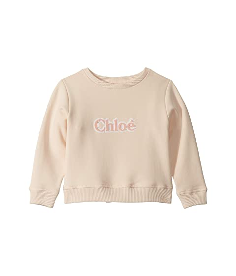Chloe Kids Sweater w/ Rubber Logo (Little Kids)