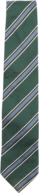 Bigi Cravatte-Milano Men's Diagonal Stripe Silk Necktie