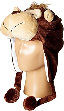 SCALA - Faux Fur Animal Hat (Toddler/Little Kids)