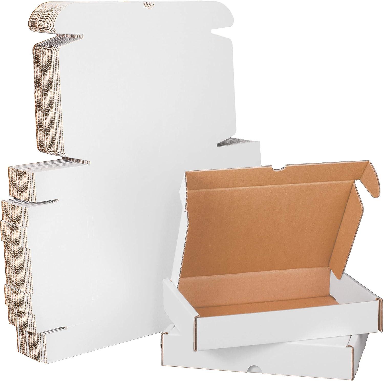 11x8x2 Heavy-Duty White Corrugated Cheap super special price Small Sales P Mailer Cardboard Box