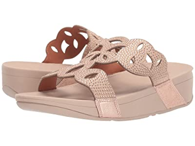 FitFlop Elora Crystal Slide (Rose Gold) Women