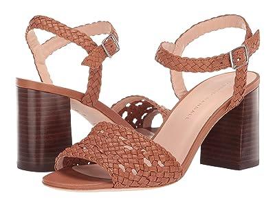 Loeffler Randall Liana Woven Leather Sandal (Timber Brown) Women