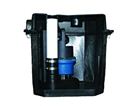 Barnes 131411 Model SU33LT Preassembled Laundry Tray Sump Pump System with SU33 Pump, 1/3 hp, 120V, 42 GPM, 1-1/2