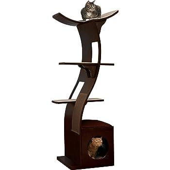 The Refined Feline Lotus Cat Tower