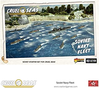 Cruel Seas Soviet Navy Fleet 1:300 WWII Naval Military Wargaming Plastic Model Kit