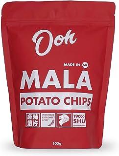 Ooh SG Potato Chips , Mala, 115 grams