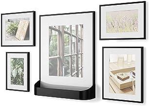 إطار صور لمعرض صور Ombra MATINEE 5 حزم، 4x6، 5x7، 8x10، أسود