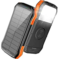 Deals on Soxono 16000mAh Solar Charger Power Bank