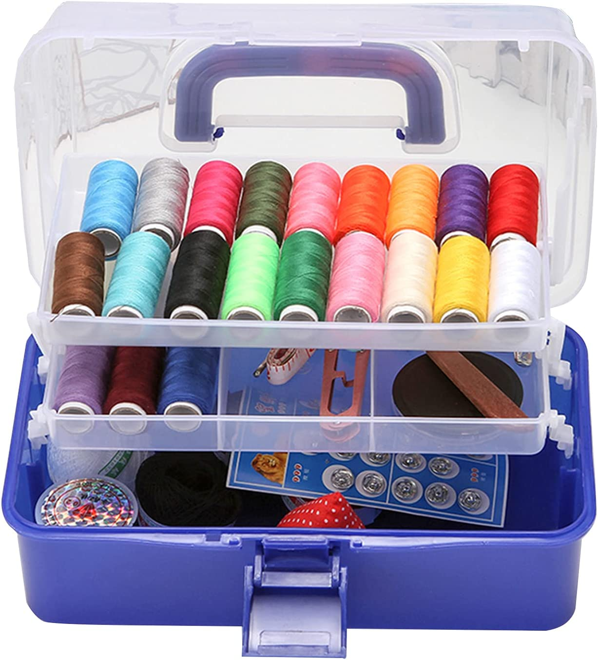 XBAOMING Sewing Tool Don't miss the campaign Latest item Basket Three-Layer Multifunctional Storage