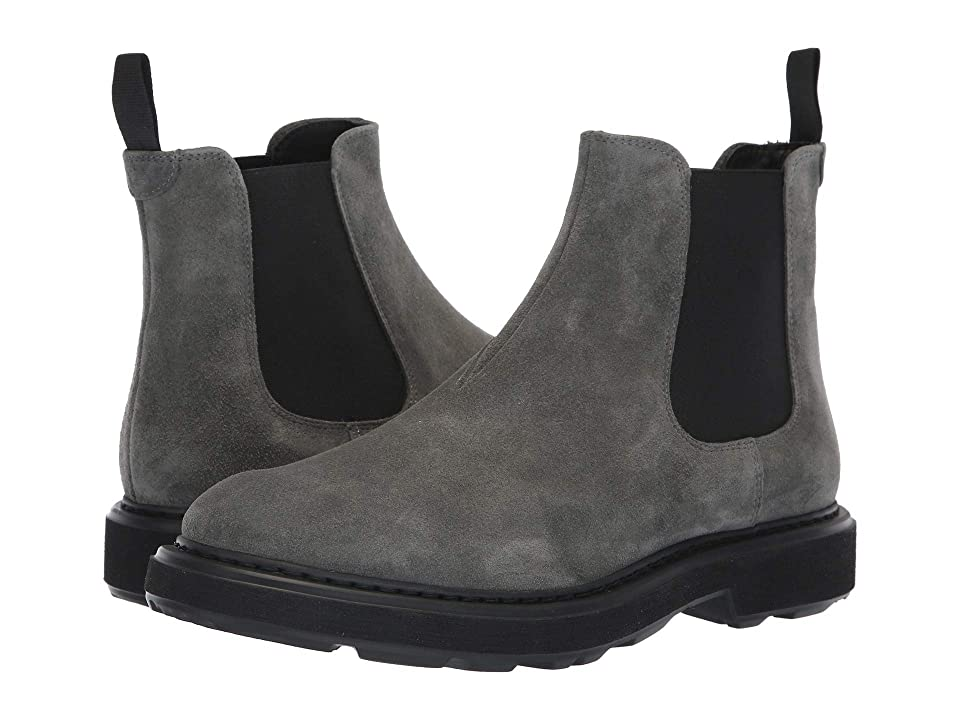 Emporio Armani Suede Pull-On Boot (Stone) Men