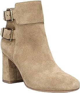 [Franco Sarto] Womens Kline Leather Square Toe Ankle Fashion Boots [並行輸入品]