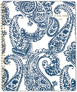 """AT-A-GLANCE 2020 Weekly & Monthly Planner, 8-1/2"""" x 11"""", Large, Paige (5141-905)"""