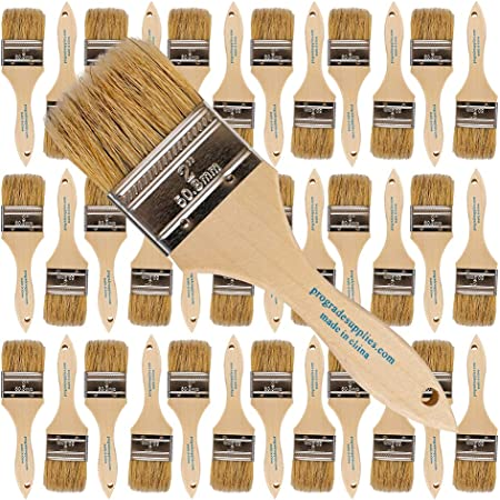 Pro Grade - Chip Paint Brushes - 36 Ea 2 Inch Chip Paint Brush