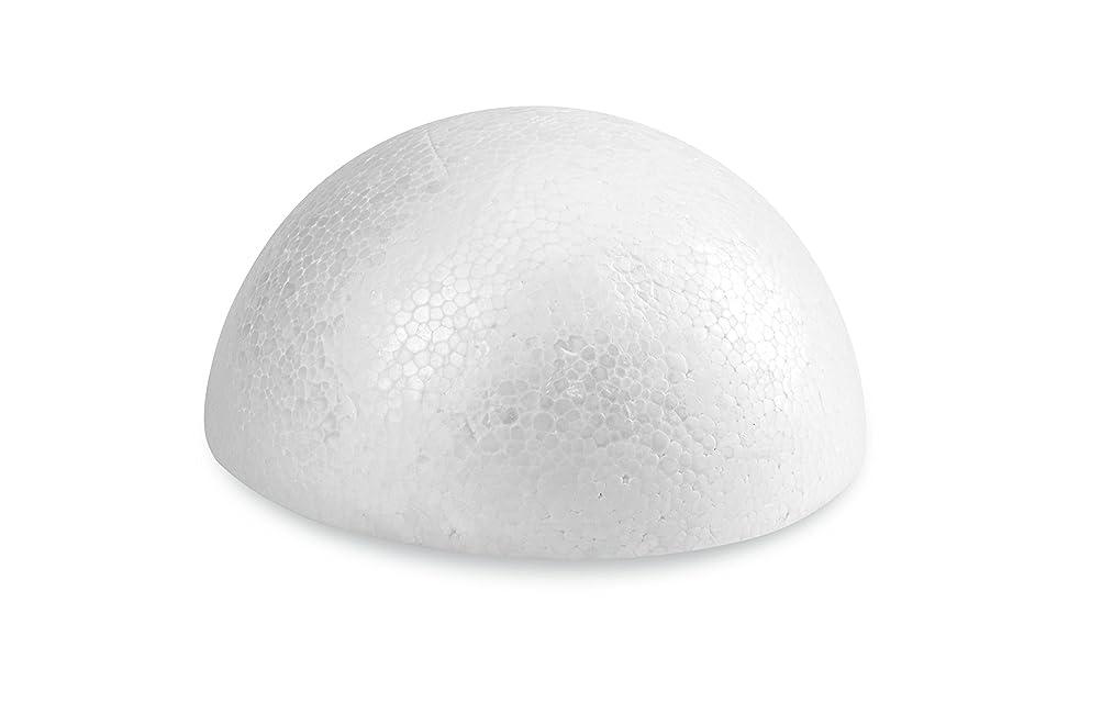 FloraCraft SmoothFoam Half Ball 1.6 Inch x 3.25 Inch White
