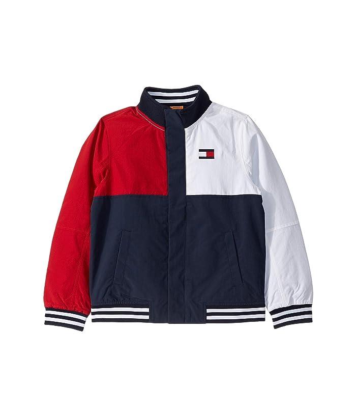 Tommy Hilfiger Adaptive  Regatta Jacket with Magnetic Buttons (Little Kids/Big Kids) (Navy Blazer) Mens Clothing