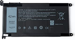 Amanda WDX0R Battery 11.4V 42Wh Replacement for DELL Inspiron 15 5565 5567 5568 5578 7560 7570 7579 7569 P58F Inspiron 13 5368 5378 7368 7378 Inspiron 17 5765 5767